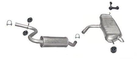 55 x 74 x9,5 mm 5 St/ück Halter Abgasanlage//Schalld/ämpfer Auspuffgummi Auspuffhalter f/ür 740 Ma/ße