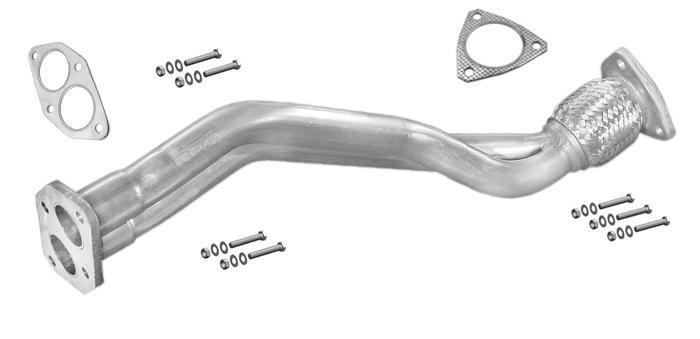 Endschalldämpfer AUDI A4 2.0 136PS Stufenheck Kombi Avant 2000-2008 Auspuff LLE