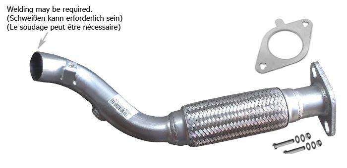 FORD GALAXY VAN 2.3 145PS 2000-2002 Hosenrohr