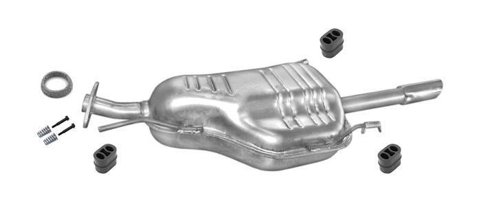 Schalldämpfer Anlage Opel Astra G Stufenheck 1,6 1,6 16V Auspuff