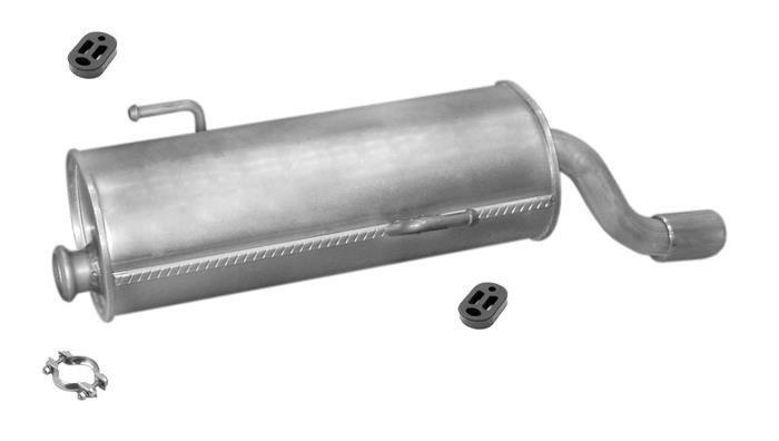 Auspuffanlage für Peugeot 206 1.1 Fließheck